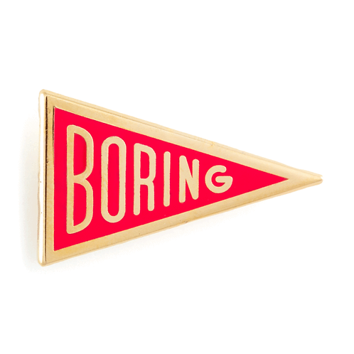 Boring Pin