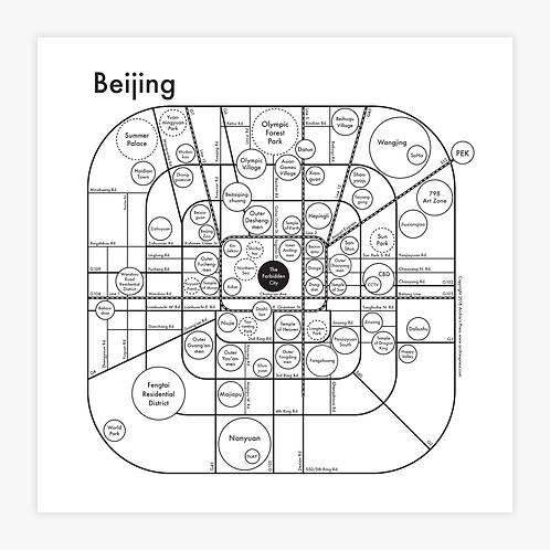 Beijing Letterpress Print