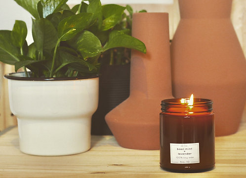 Soy Candle - Amber Collection No. 10