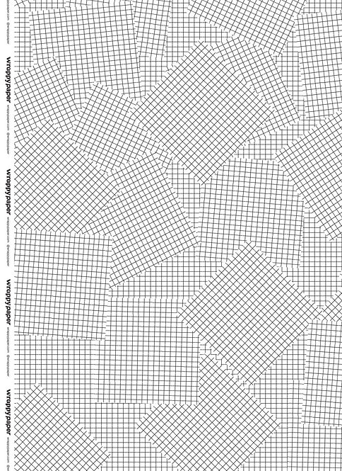 Wrapping Paper - Grid