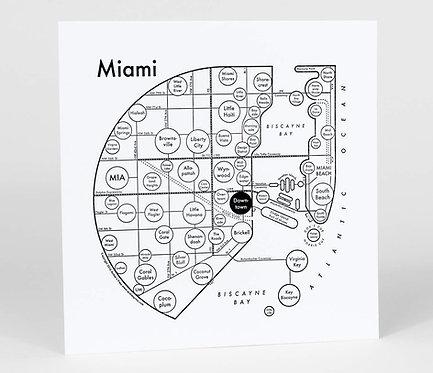 Miami Letterpress Print
