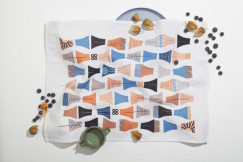 Midnight Garden Tea Towels