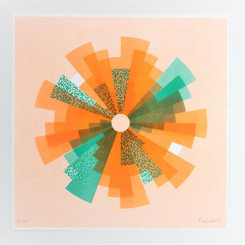 """""""Fan"""" Print - by Daniella Trigo"""