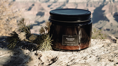Soy Candle - Amber Collection No. 08