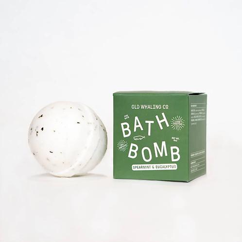 Bath Bomb - Spearmint & Eucalyptus