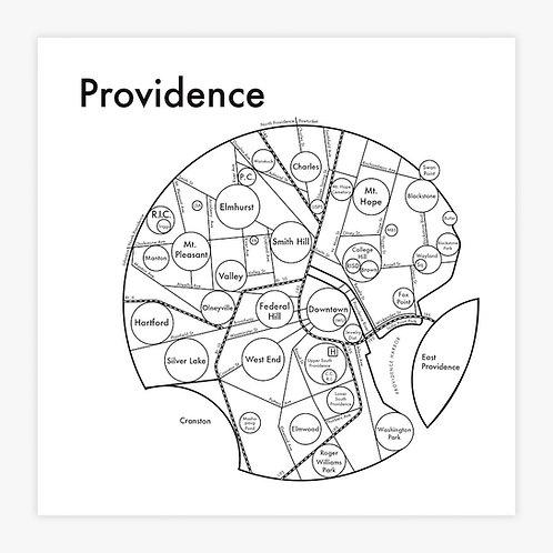 Providence Letterpress Print