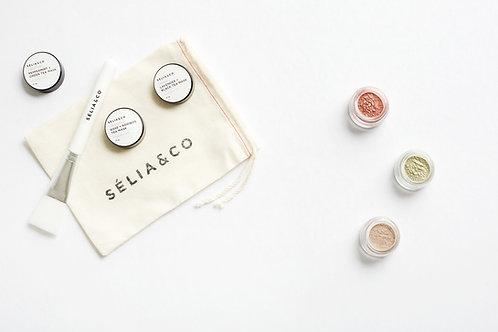 Mini Masks & Brush Set