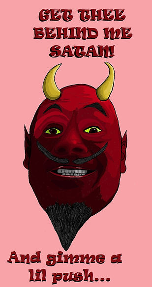 t-shirts, art, photogaphy, products, shopping, bedding, home decor, mugs, phone cases, Redbubble, dresses, fashion, bags, accessories, stationary, devil, red, temptaion, fun, humor, character, sexy, good suff, satan, lucifer