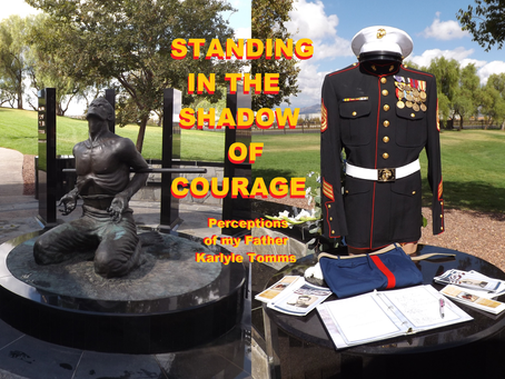 STANDING IN THE SHADOW OF COURAGE - Perceptions of my Father