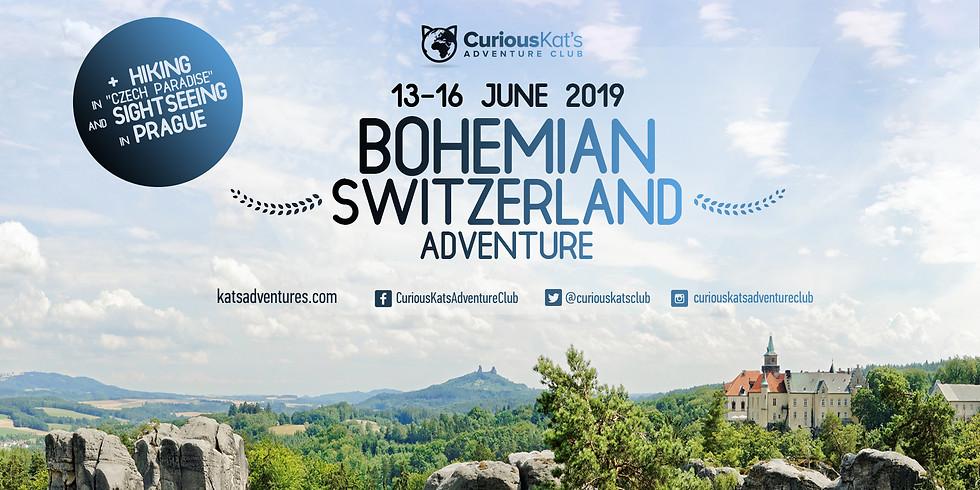 "Bohemian Switzerland Adventure-Hiking in ""Czech Paradise"", Sightseeing in Prague!"
