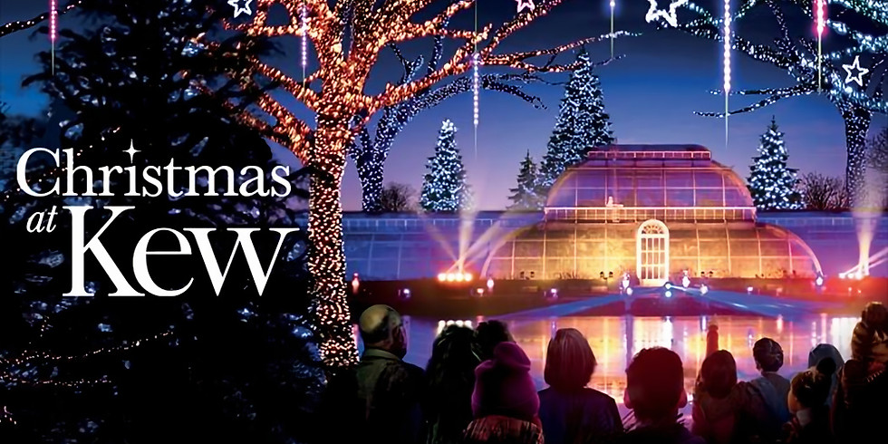 Christmas at Kew - after-dark festive trail of lights