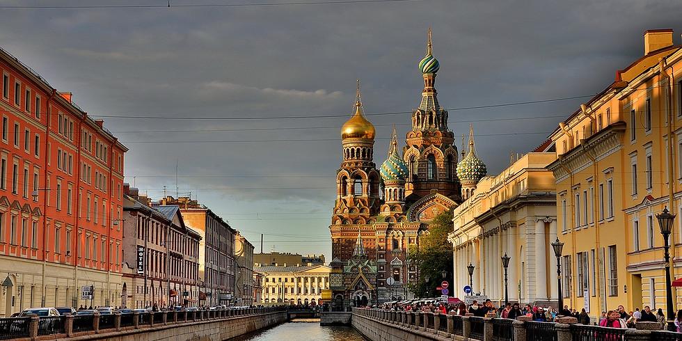 Spring weekend in St Petersburg!