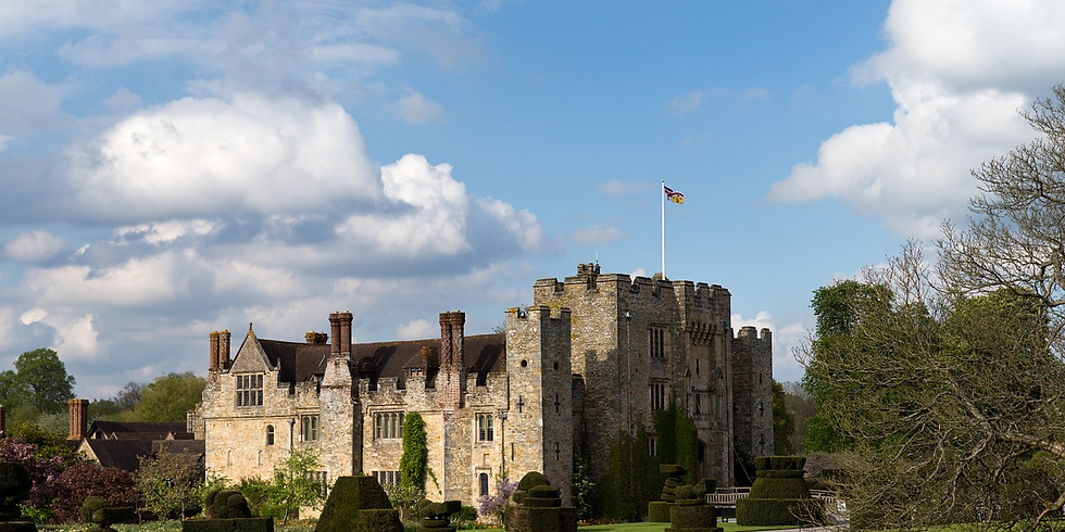 Winter Hever Day Trip-Castle, Gardens and Lake Walk
