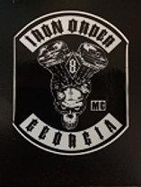 Iron Order Georgia Sticker