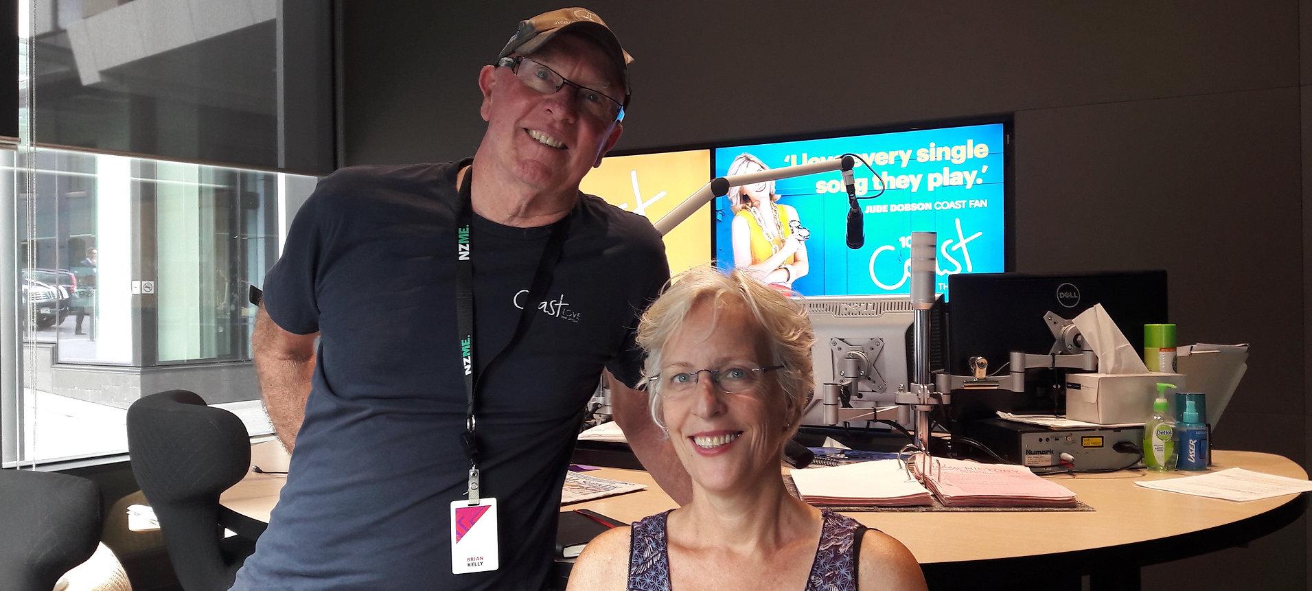 VM interviewed Brian Kelly Coast FM Jan