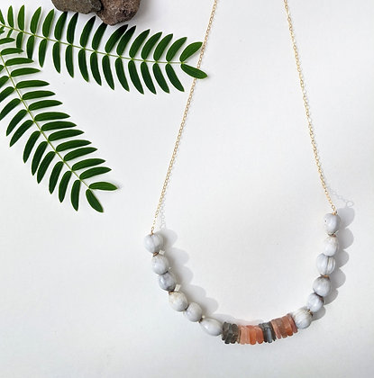 Seed & Stone Necklace