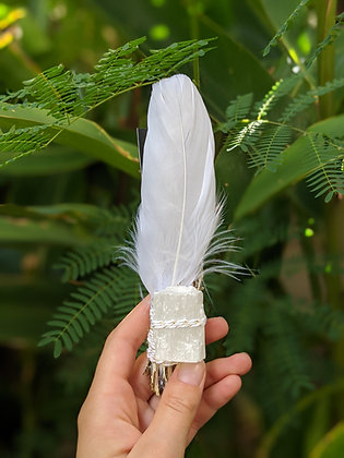Wildcrafted Sage Bundle + White Selenite
