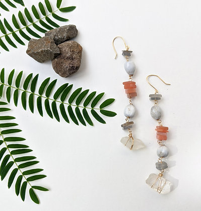 Seed & Stone Earrings