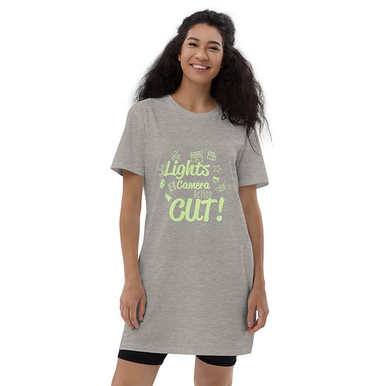 Light Camera Action Oversized T-Shirt