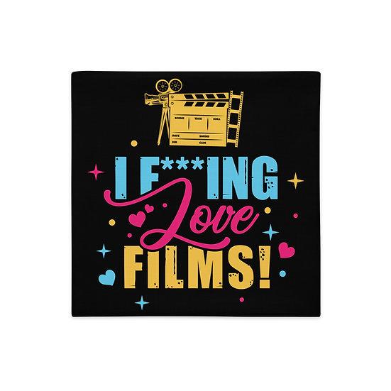 Love Film Pillow Case