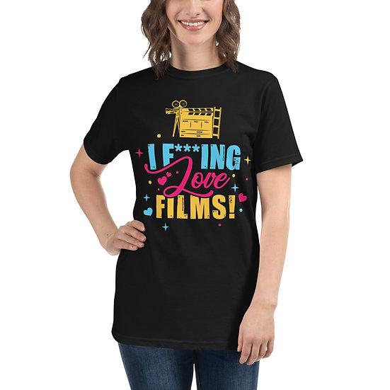 Love Film Oversized T-Shirt