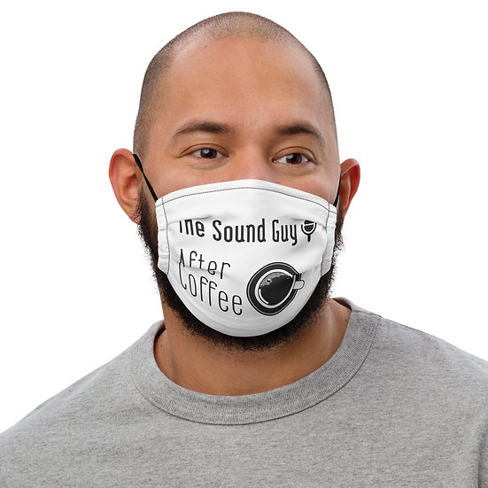 Sound Guy Premium face mask