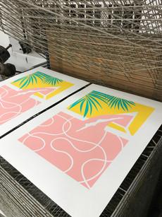 03 Diving Girl Printmaking.jpg
