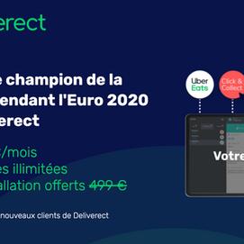 Restaurateurs, les Best Practices pour devenir Champion de la livraison durant l'EURO 2020 !