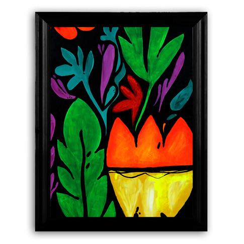 Floral textile