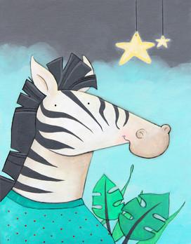 Zebra In Pajamas