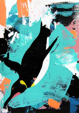 Emperor Penguin Diving