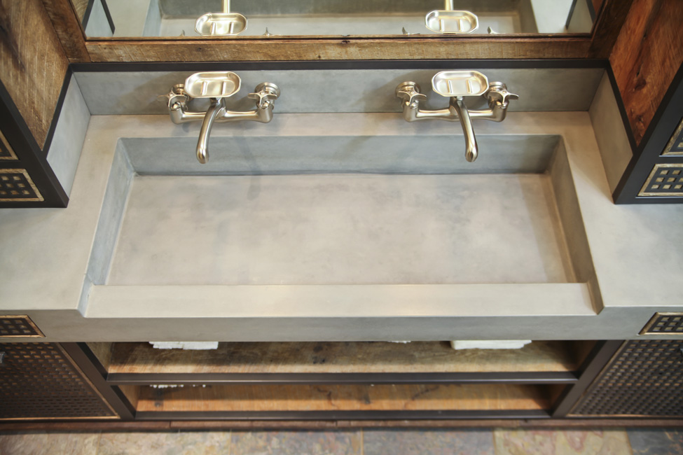 trough sink top