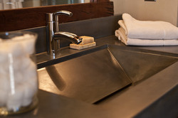 Tent Concrete sink 2