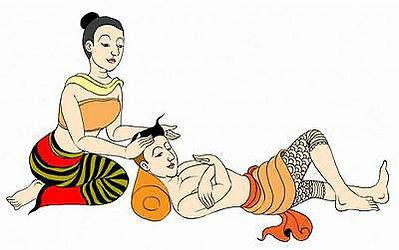 Thai Massage Demo