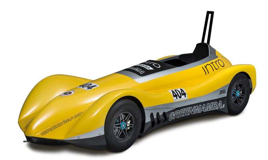 "Produktaufnahme ""Green Mamba - Speeddown Cars"""