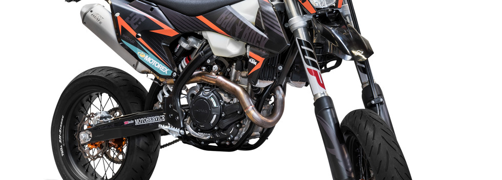 Produktaufnahme Motorrad