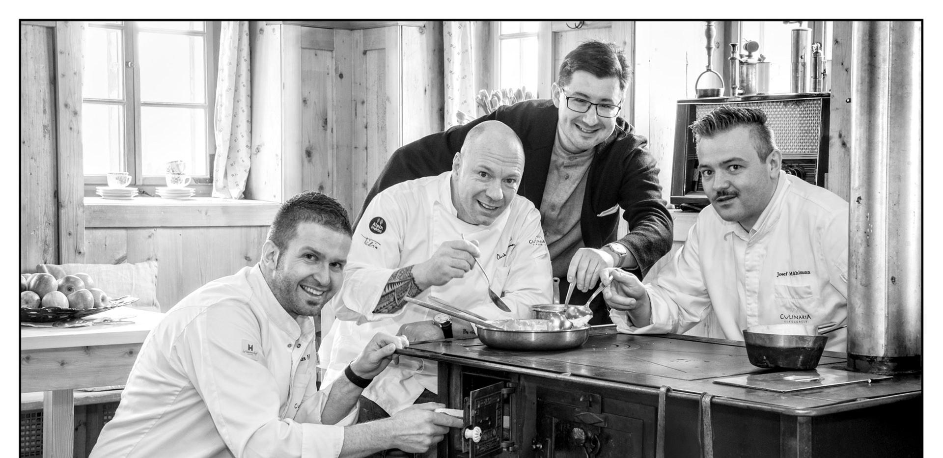 "Portraitserie für Kochbuch ""Culinaria Tirolensis"""