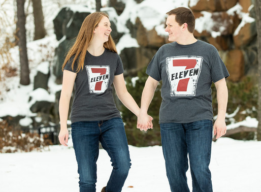 Winter Engagement at the Como Zoo