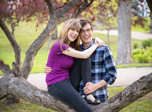 Claire and Steven's Engagement Session~ Irvine Park St. Paul