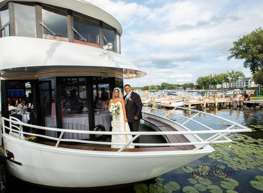 The Love Boat Wedding| Paradise Charter Cruises, Wayzata