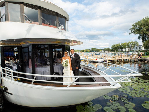 The Love Boat Wedding| Paradise Charter Cruises, Wayzata