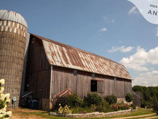 The Barns of Lost Creek Wedding | Devin & Michaela