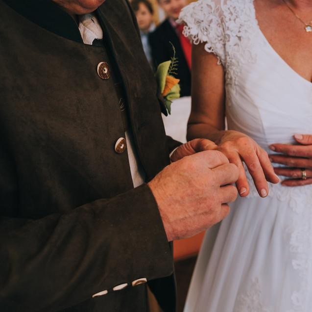 d Hochzeit