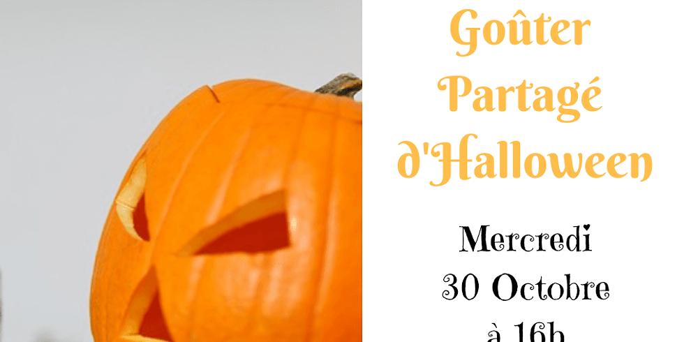 Goûter partagé d'Halloween