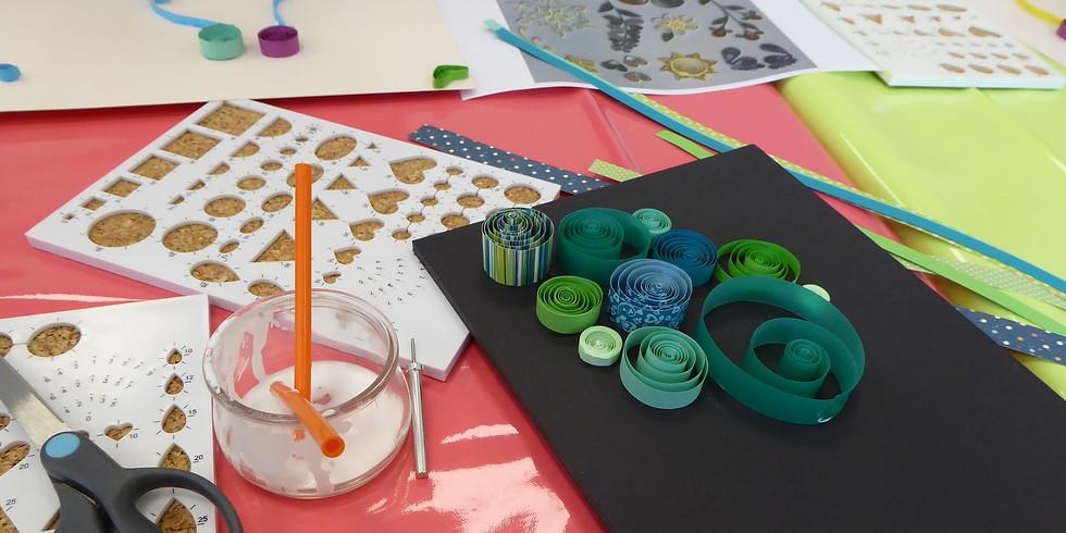 Atelier Abricadabroc : spécial Quilling