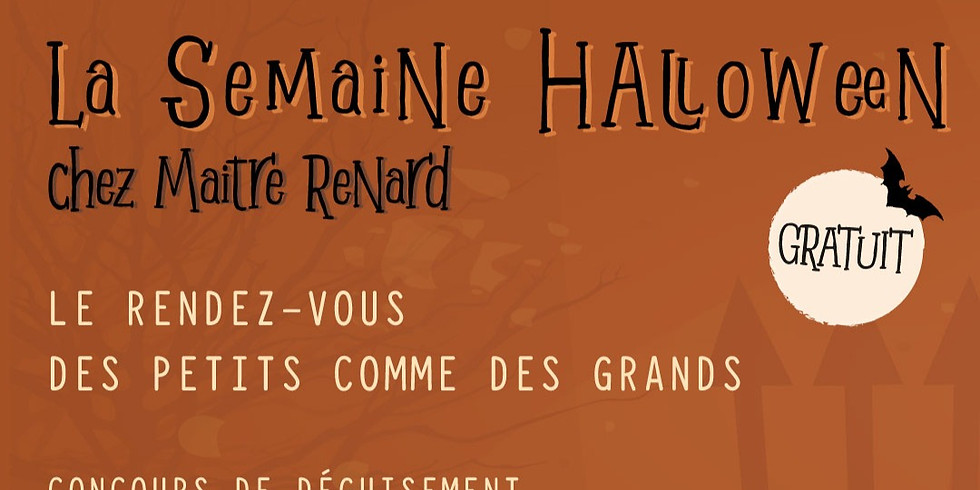 Halloween Chez Maitre Renard