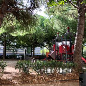 Aire de jeux de la place des patriotes - Montpellier