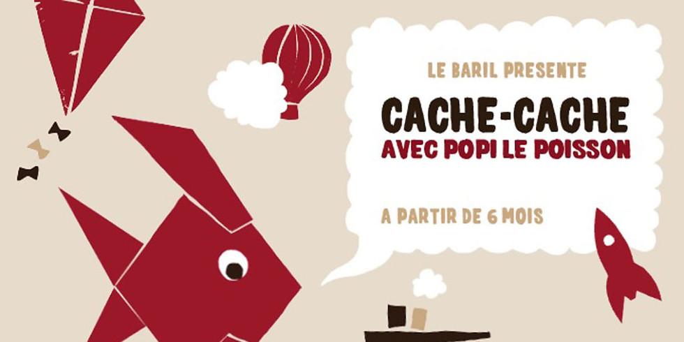 """Spectacle """"Cache-cache avec Popi le poisson"""""""