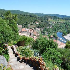 Jardin méditerranéen - Roquebrun