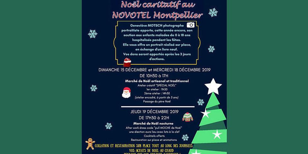 Noël caritatif au novotel de Montpellier